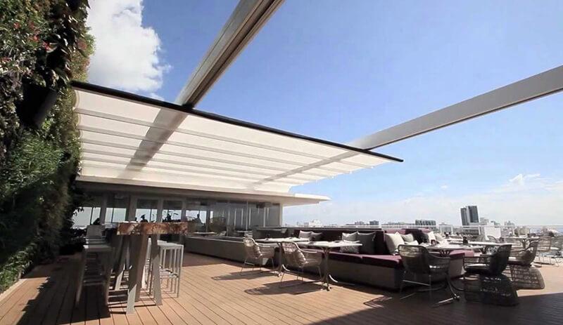 Những mẫu thiết kế mái che di động mà An Phát đã thiết kế và thi công