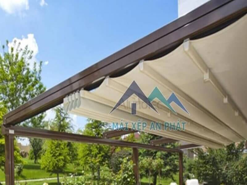 mẫu mái xếp lượn sóng dành cho sự kiện ngoài trời