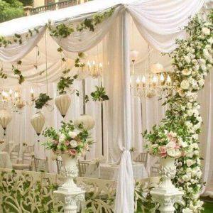 Tổng hợp các mẫu dù che dành cho rạp cưới đẹp nhất
