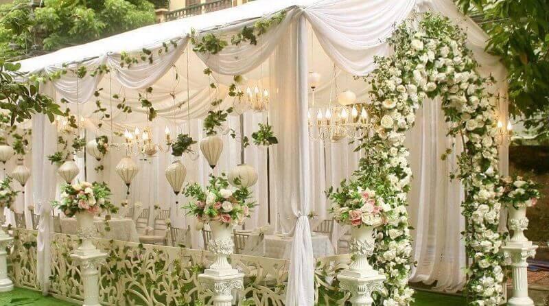 tổng hợp các mẫu rạp cưới đẹp nhất