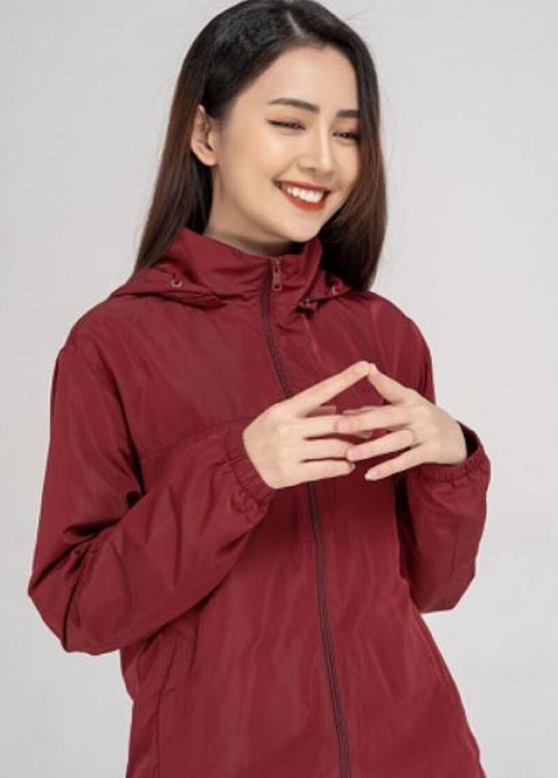 vải dù được sử dụng trong thời trang may mặc