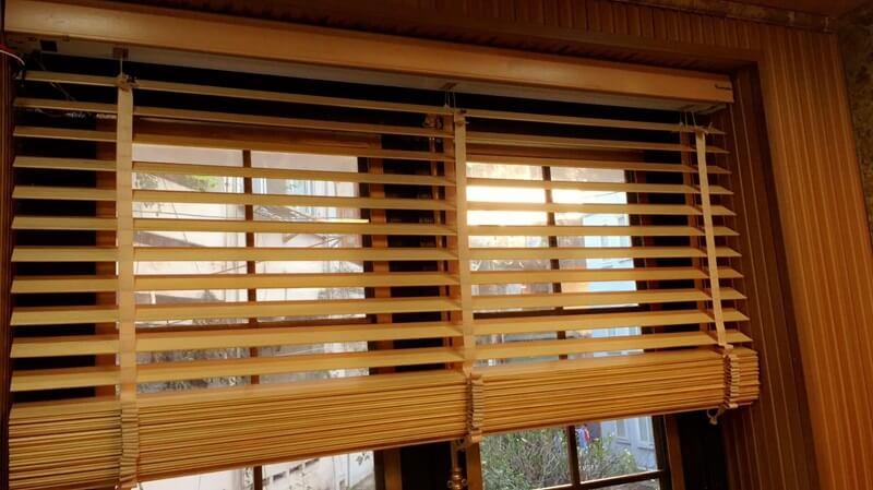mành che nắng bằng gỗ