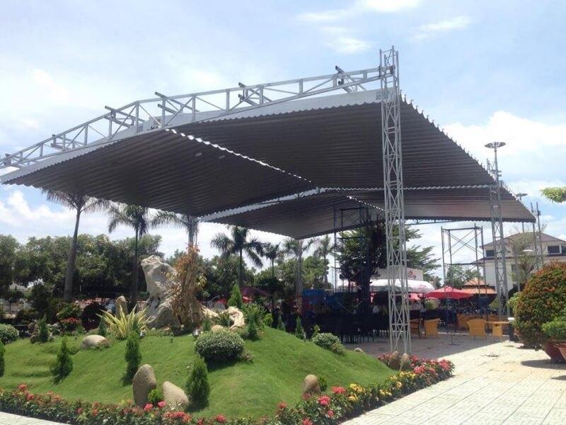 mẫu mái xếp dành cho tổ chức sự kiện